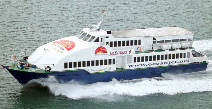 OceanJet Ferries Dumaguete to Siquijor