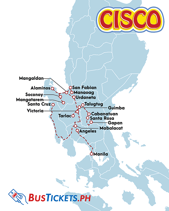 CISCO Bus Routes and Schedules